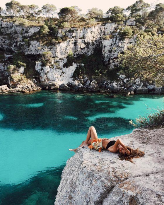 aguas de Cala Macarelleta