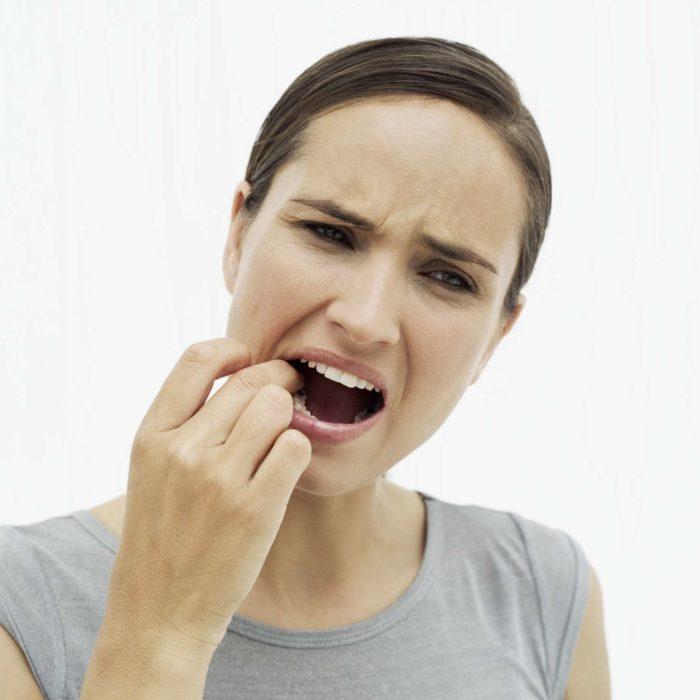 Comisuras de los labios resecas