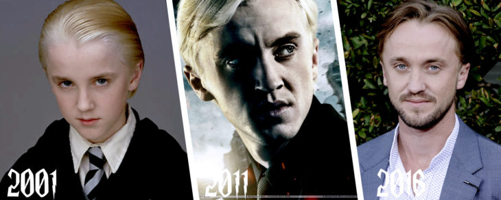 evolución de Draco Malfoy