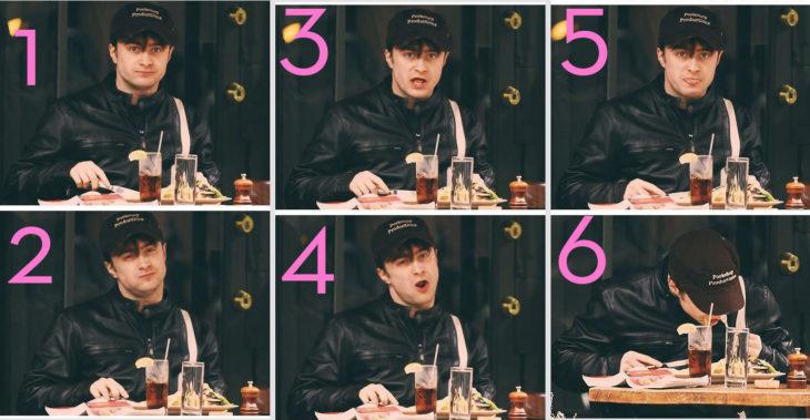 Daniel Radcliffe reacciona de manera graciosa a un paparazzo