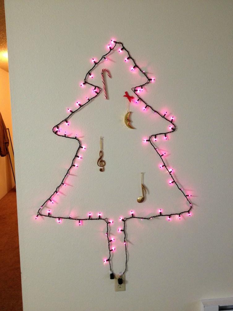 21 decoraciones navide as ideales para todos los grinch - Decoraciones para la pared ...