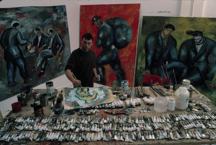 Sandro Chia y sus pinturas