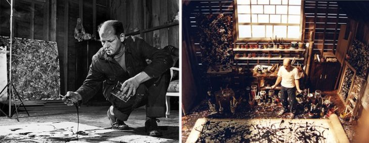 Estudio de Jackson Pollock