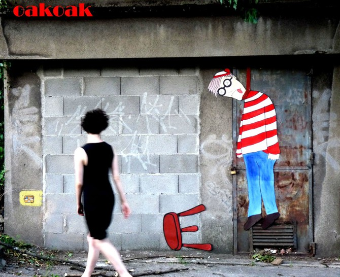 Wally graffiti