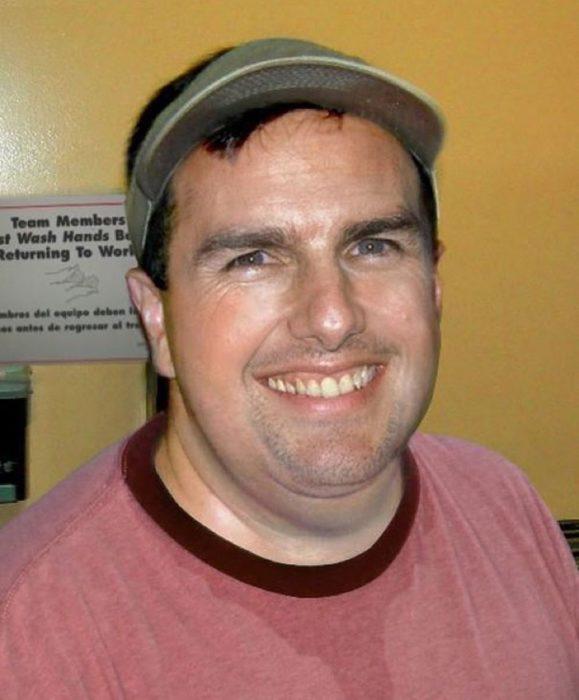 Cómo lucirían los famosos si fueran personas normales - Tom Cruise gordo