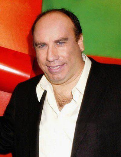 Cómo lucirían los famosos si fueran personas normales - John Travolta gordo y pelón