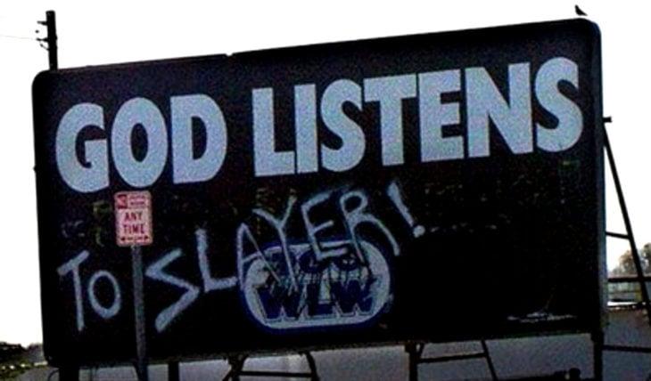 graffiti solo para rockeros