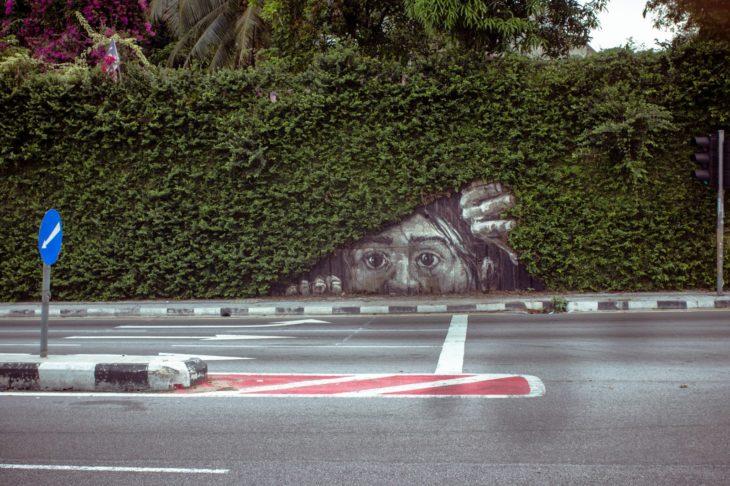 escondidas grafitti