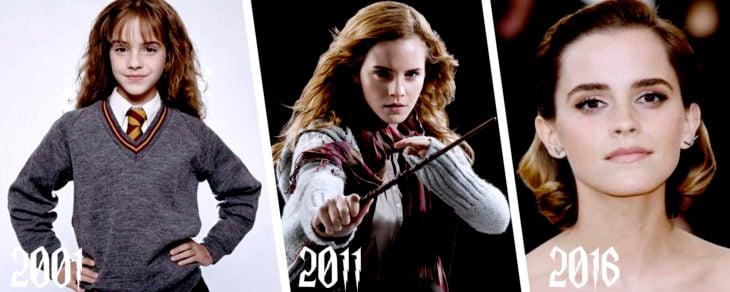 evolución de hermione