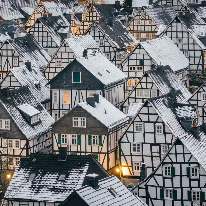 casas geométricas