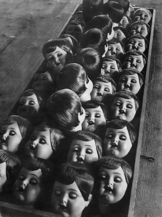 cabezas de muñecas antigüas
