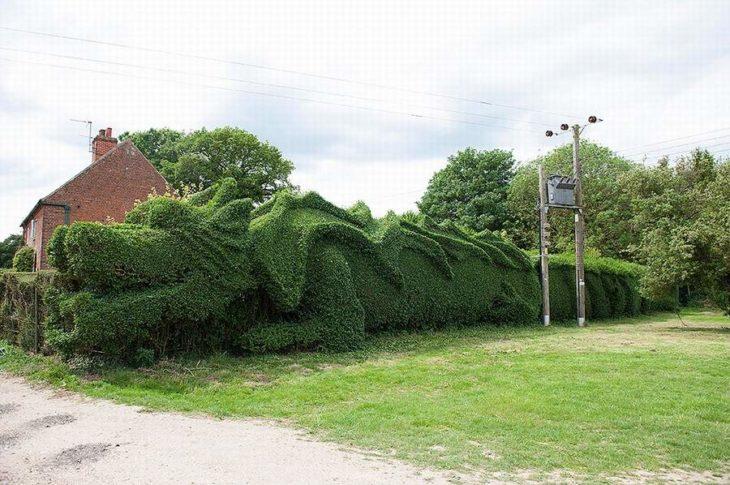 Ärbol enorme en forma de dragón