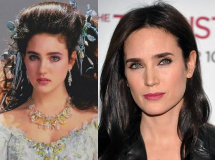jennifer connelly adolescente y actualmente