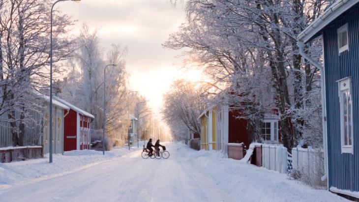 Pueblo de Laponia