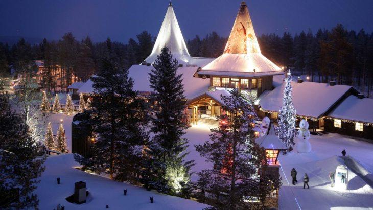 Villa de Santa en Laponia