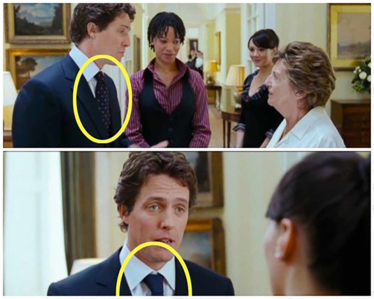 error de película love actually