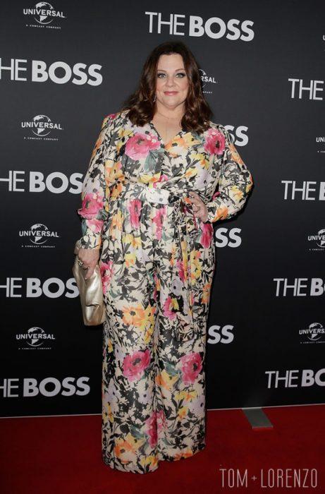 melissa maccarthy en el estreno de The boss