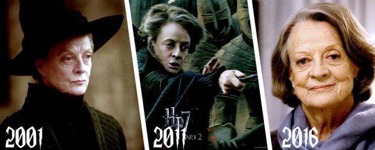 evolución de Minerva McGonagall