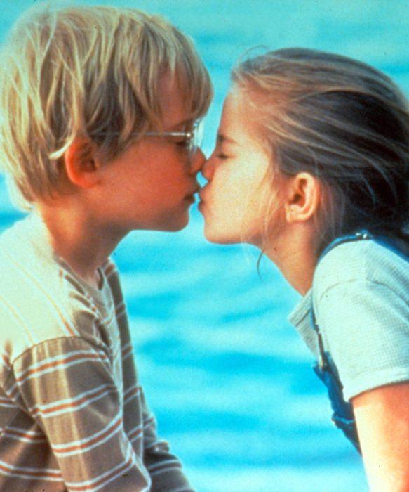 escena película mi primer beso