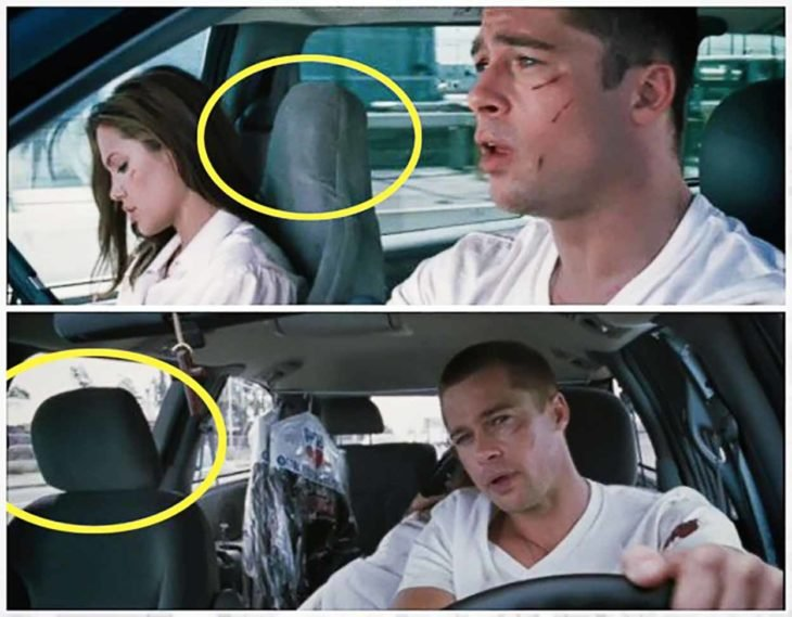error de película de Mr and Mrs Smith