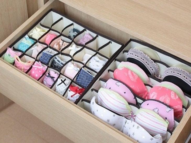 Organizar clóset - ropa interior