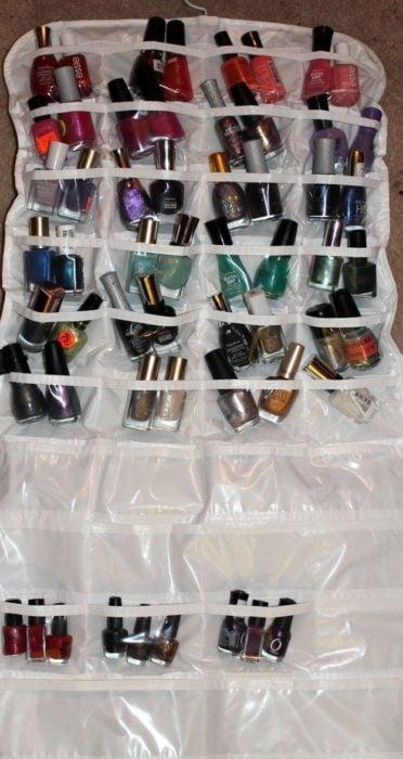 Organizar clóset - Ordenar esmaltes