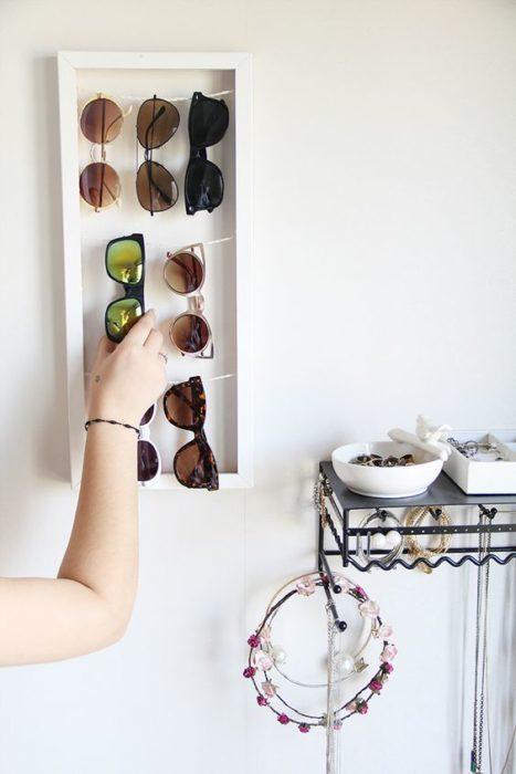 Organizar clóset - lentes