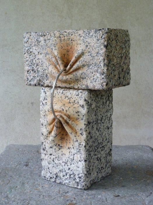 Piedras con pliegues