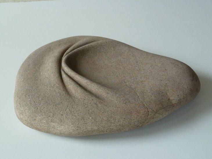 Piedra arrugada pliegues
