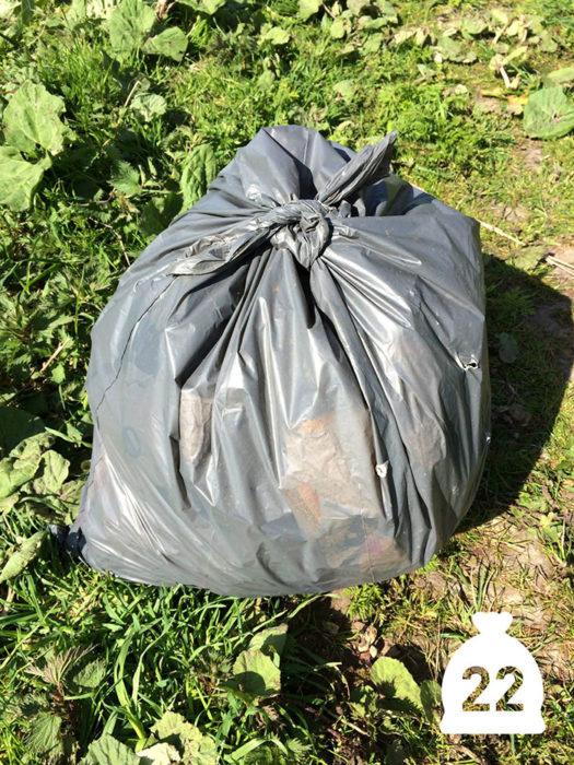 la ultima bolsa de basura