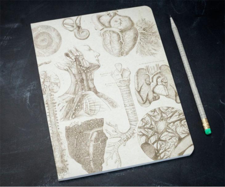 Un cuaderno para amantes de la medicina