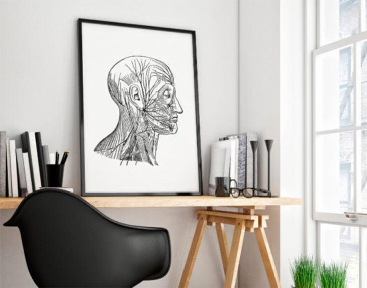 póster del sistema nervioso central
