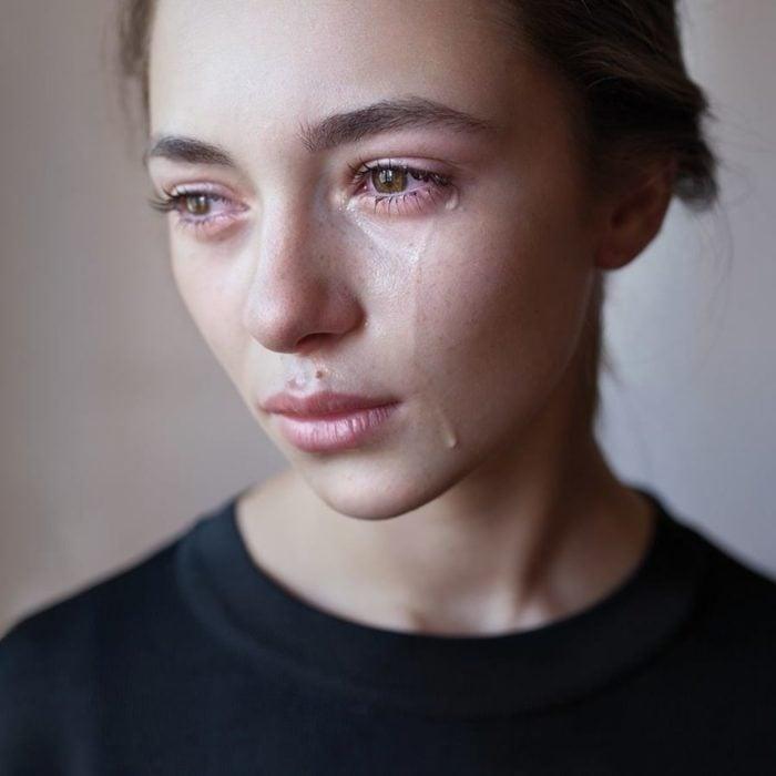 la lágrimas más puras de una mujer