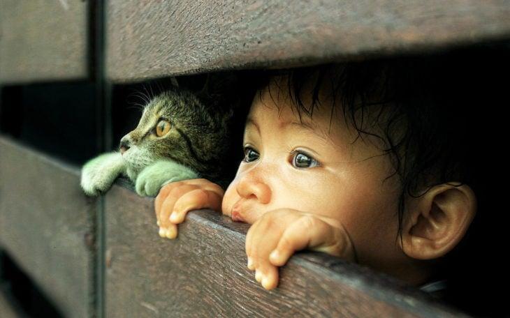 El niño y snoop