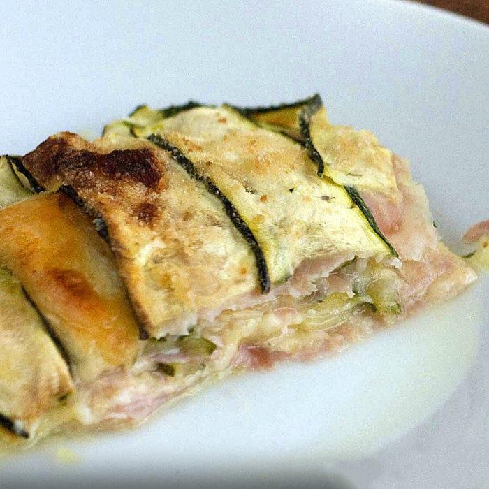 Recetas vegetales - lasaña de calabaa