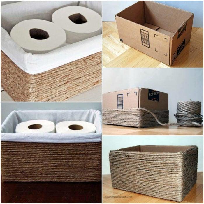 Caja para guardar cosas