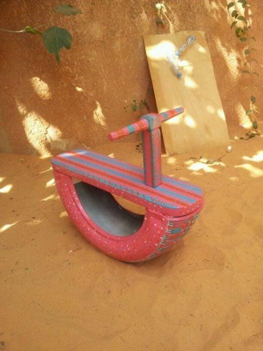 Llantas doble uso juguete para niños