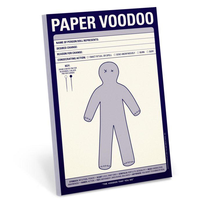 papel vudu