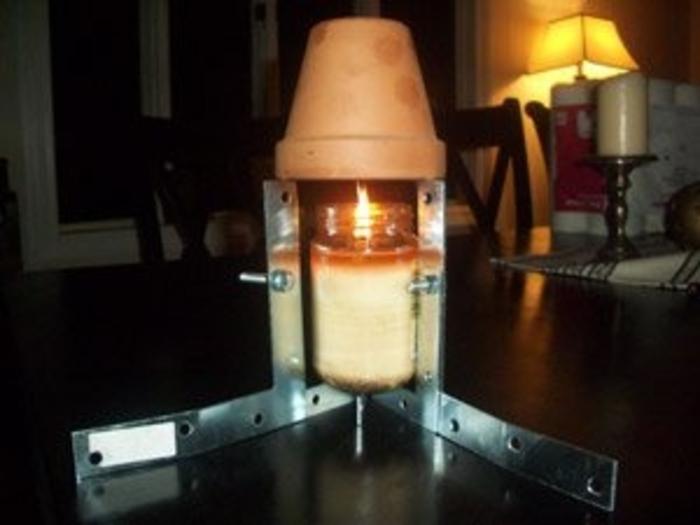 Resultado final del calentador de ceramica