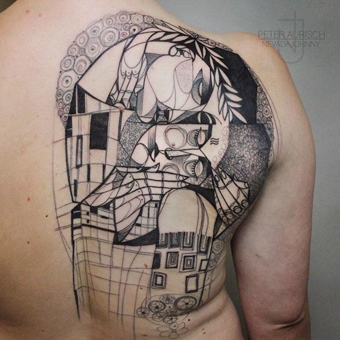 tatuaje modernista