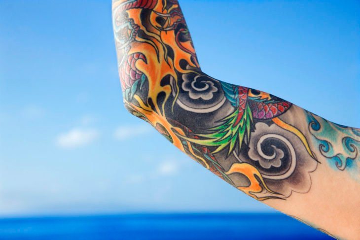 tatuajes en la playa