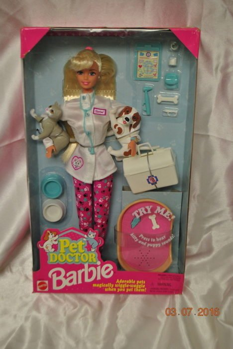 barbie veterinaria