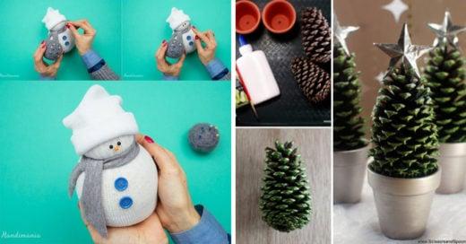 Manualidades Para El Hogar Navidad.20 Adornos Navidenos De Bajo Presupuesto Que Te Encantaran