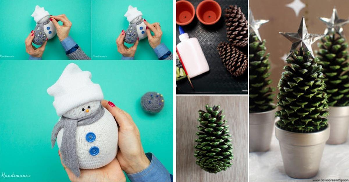 15 manualidades sencillas para decorar tu casa esta navidad - Adornar la casa en navidad ...