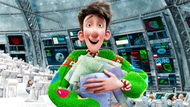 hombre con suéter verde
