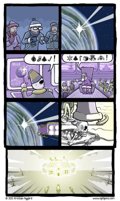 cómics navideños