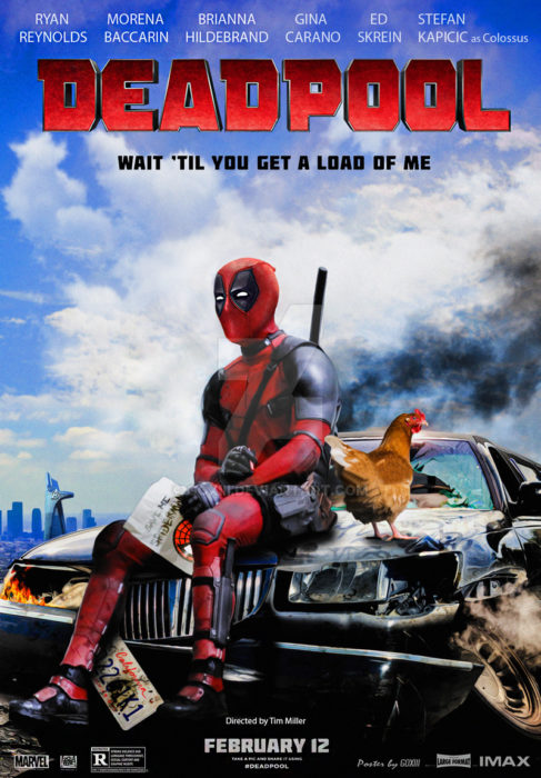 póster de la película deadpool