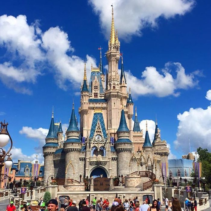 castillo de disney world