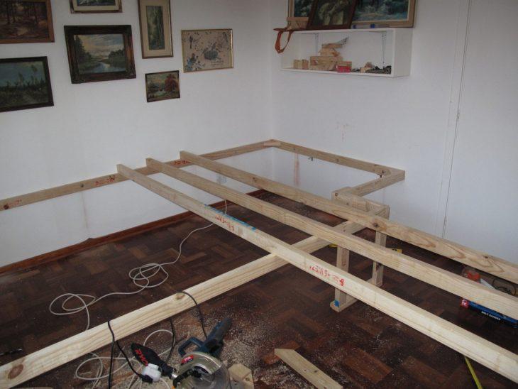 como construir un moderno escritorio en tu habitación