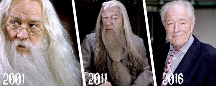 evolución de dumbledore